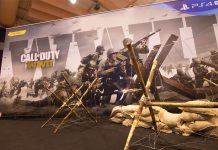 Call of Duty: WWII na Lisboa Games Week: Nov 2017