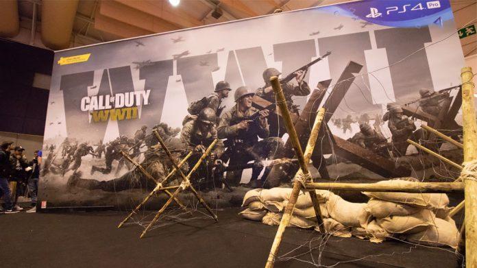 Call of Duty: WWII na Lisboa Games Week: Nov 2017