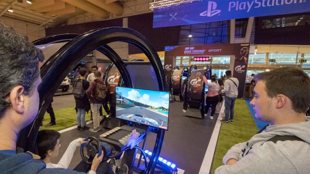 Gran Turismo Sport na Lisboa Games Week 2017