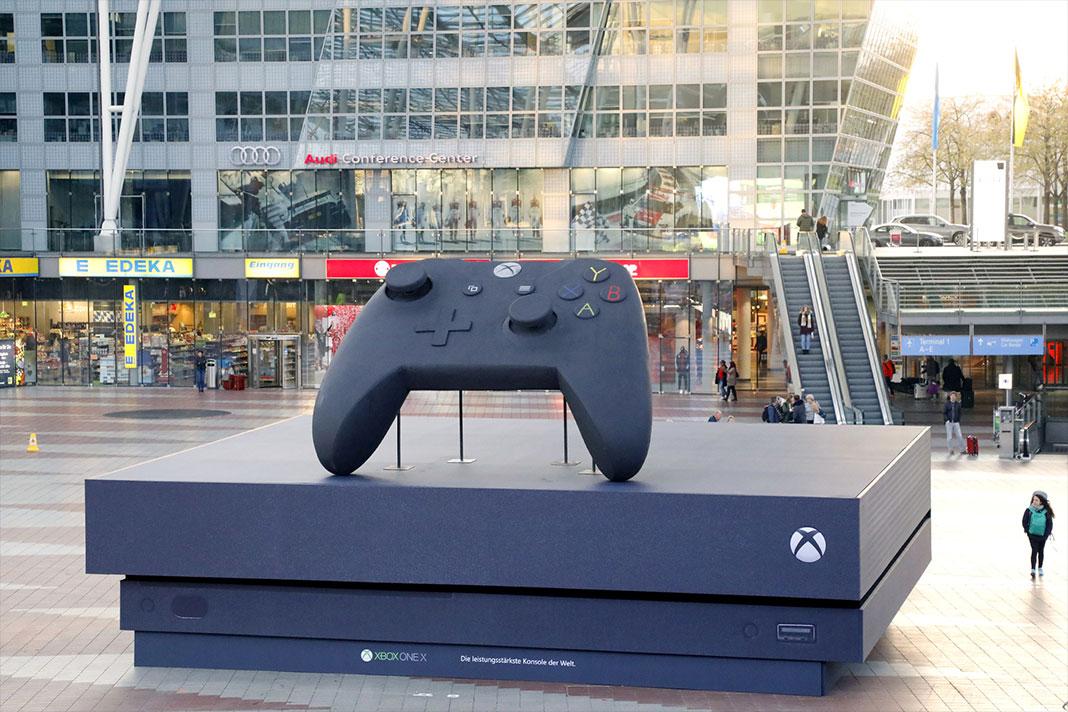 Lançamento Xbox One X
