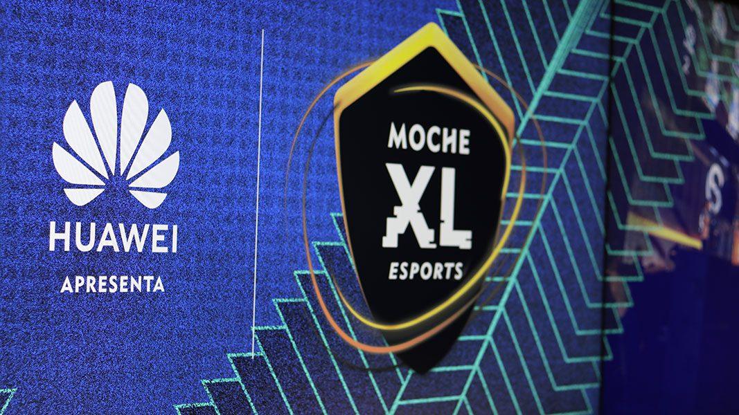 Apresentação do MOCHE XL ESPORTS by Huawei