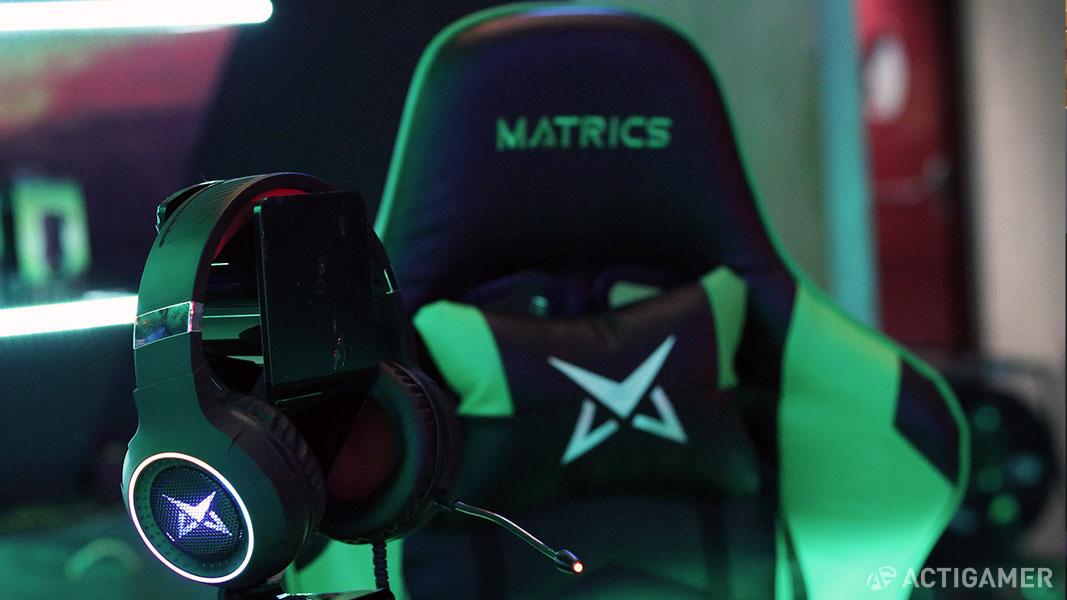 Lançamento Matrics no Moche XL Esports