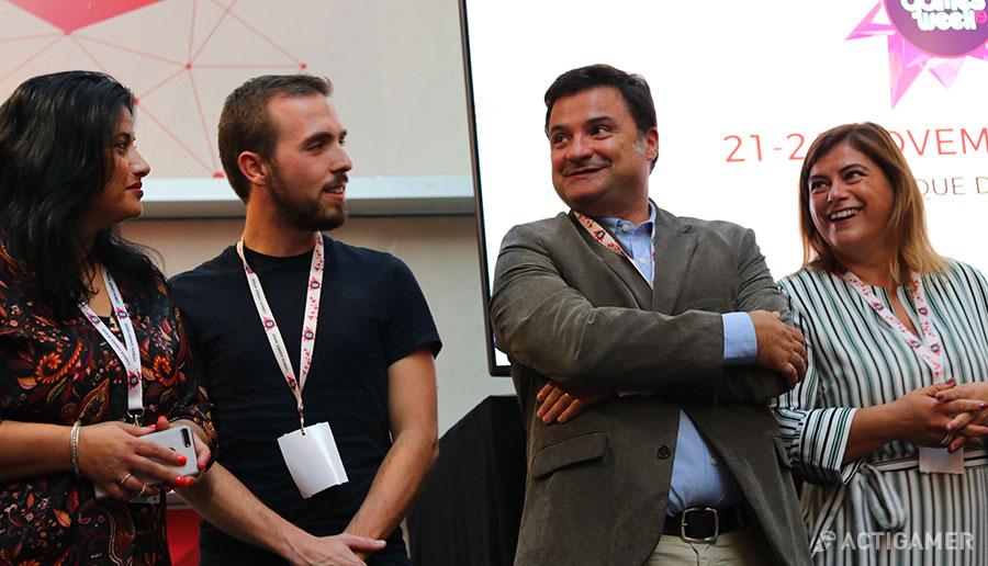 Lisboa Games Week. Equipa FIL - Fundação AIP