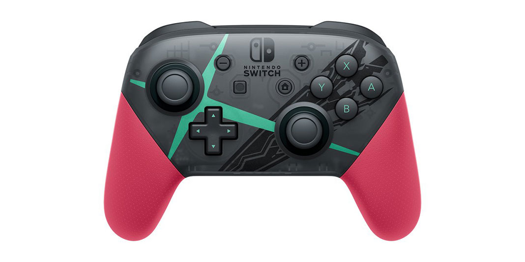 Nintendo Switch Pro Controller Xenoblade Chronicles 2 Edition