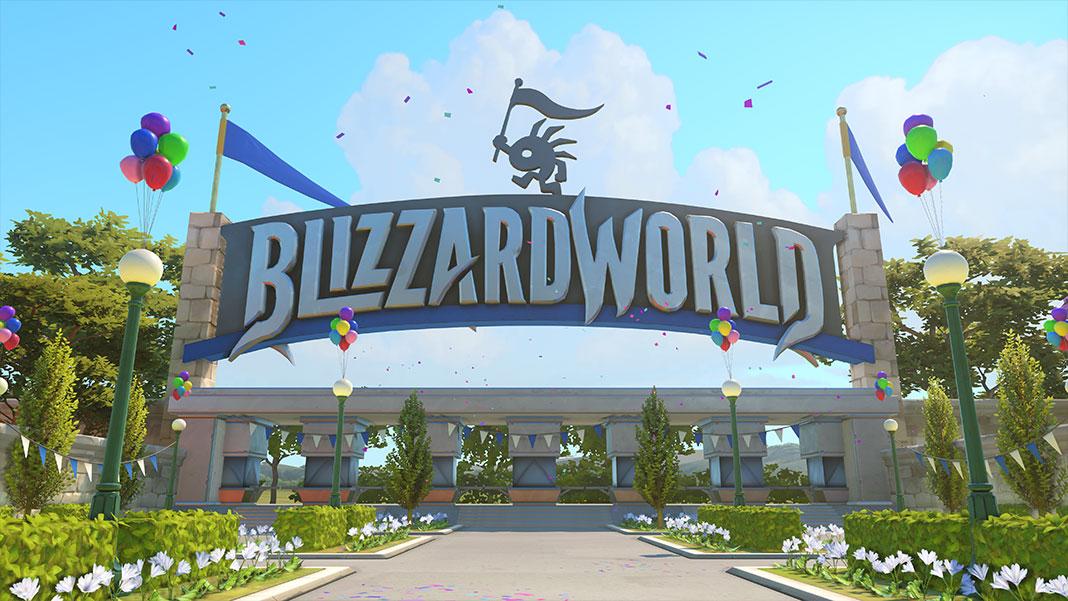 Overwatch - BlizzardWorld