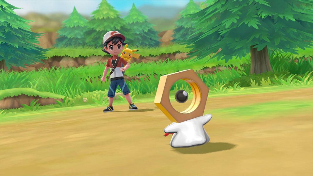 Meltan - Pokémon: Let's Go Pikachu! e Let's Go Eevee!