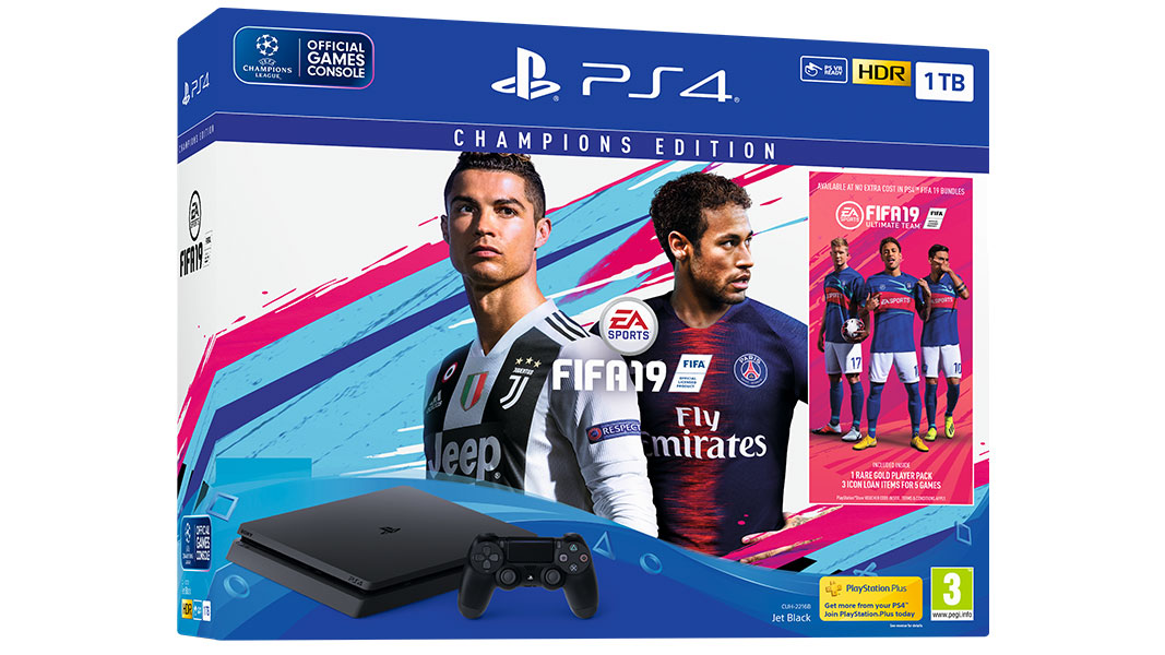 Bundle PS4 + FIFA 19 Champions Edition