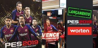PES 2019 Lançamento Worten
