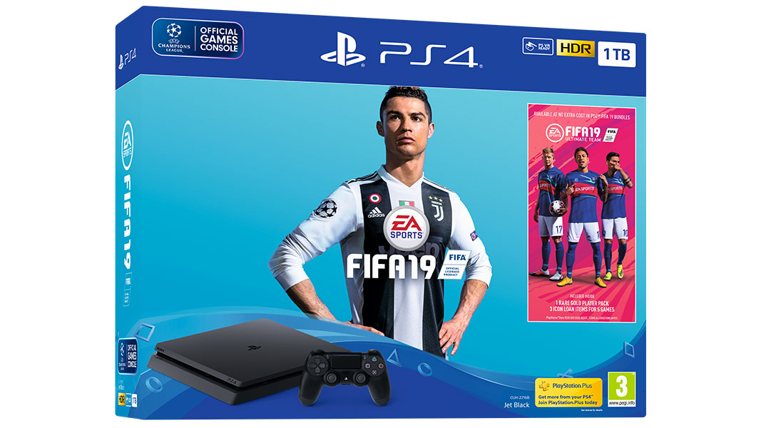 Bundle PS4 + FIFA 19 Standard Edition