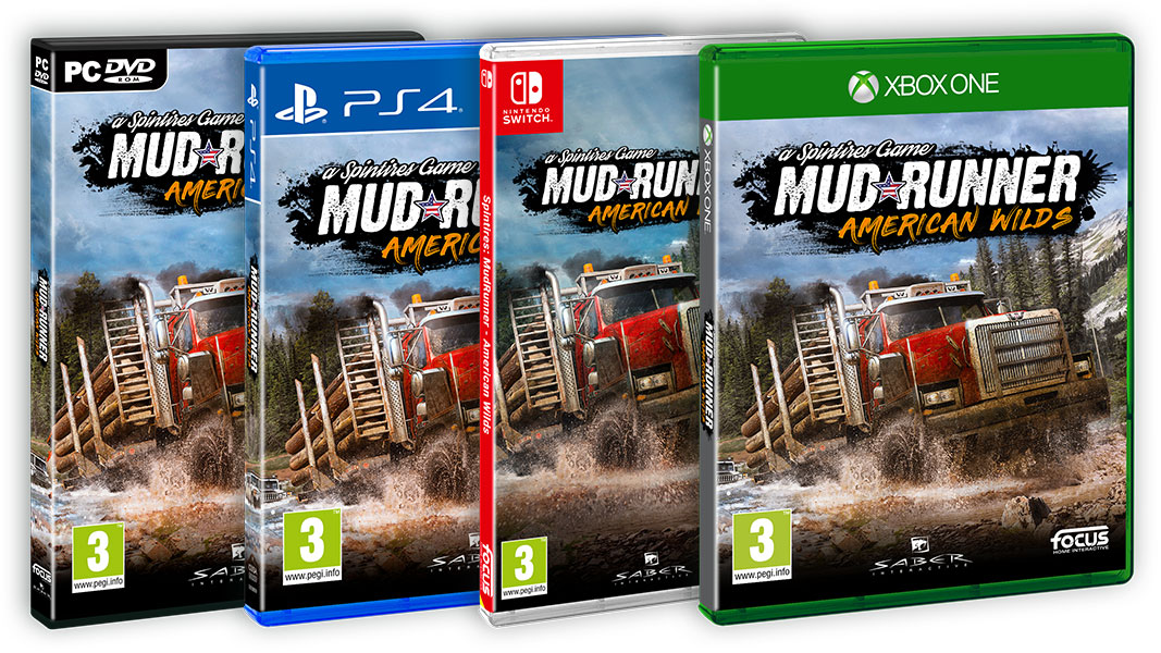 Spintires MudRunner: American Wilds Edition