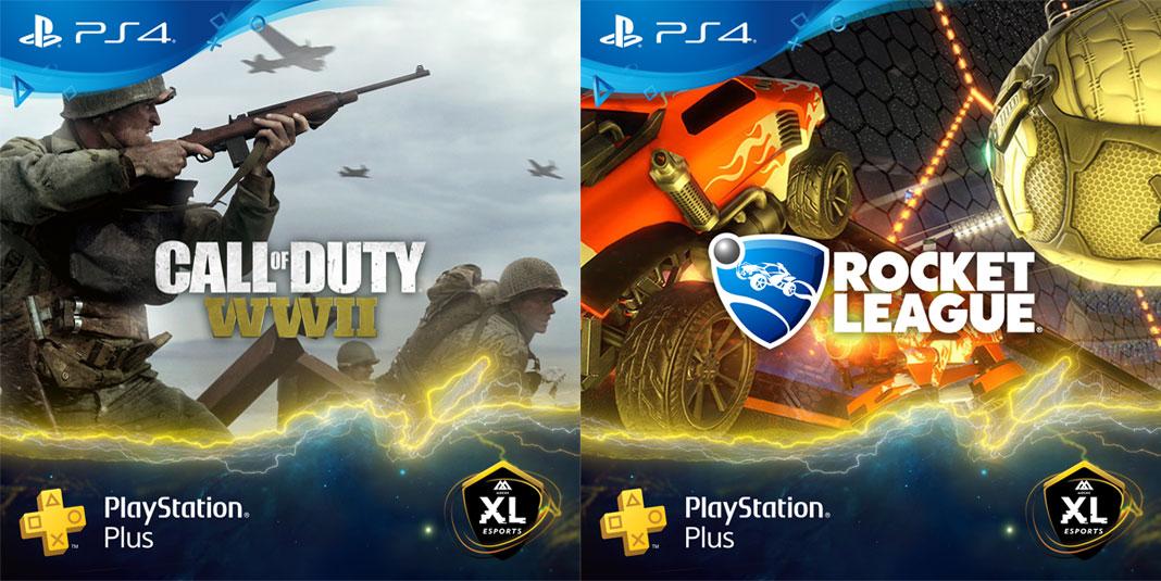 Call of Duty: WWII e Rocket League