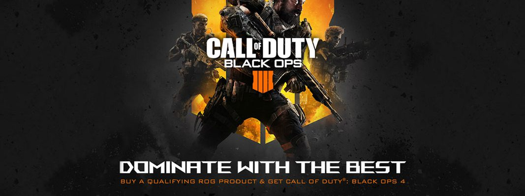 Call of Duty: Black Ops 4: Parceria Asus e Activision