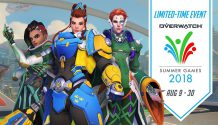 Overwatch: Jogos de Verão 2018