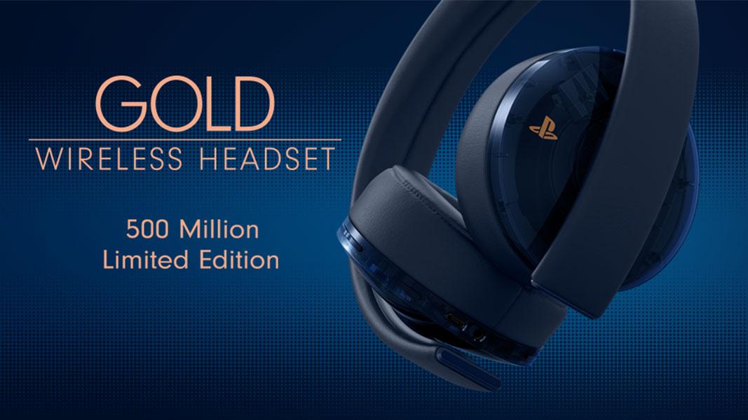 Auscultadores 500 Million Limited Edition Gold