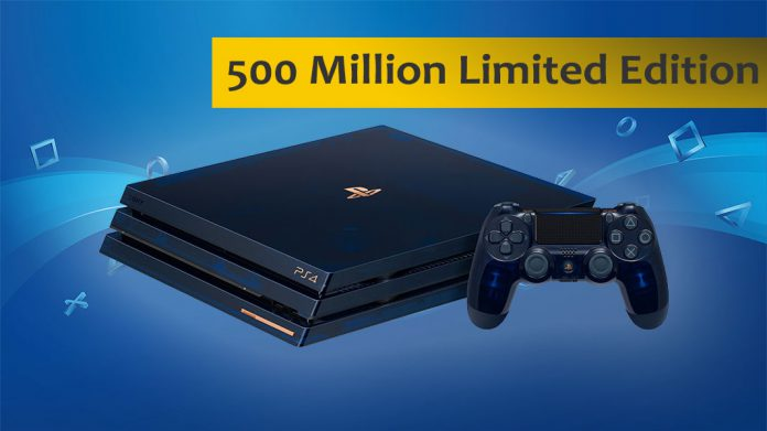 500 Million Limited Edition PlayStation 4 Pro