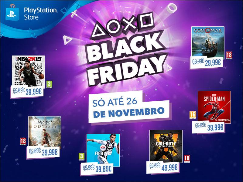 PlayStation: Black Friday 2018