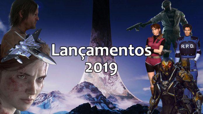 Principais lançamentos de videojogos para 2019