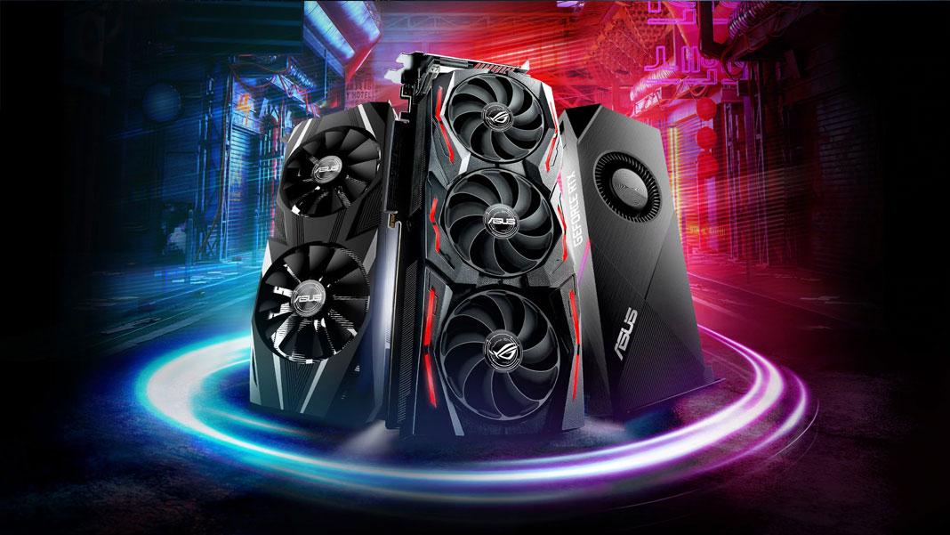 ROG Strix, Dual e Turbo GeForce RTX 2070