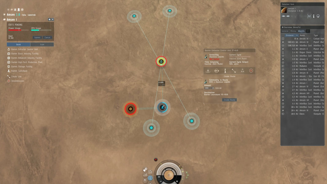 EVE Online - Planetary Interaction