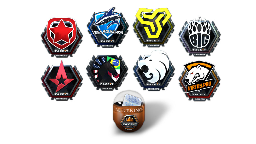 FACEIT Major London 2018 - Stickers