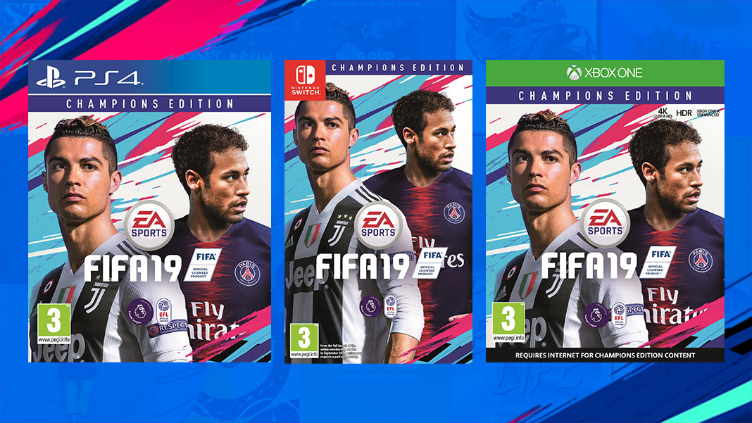 FIFA 19 Champions Edition - PS4, Switch, Xbox One