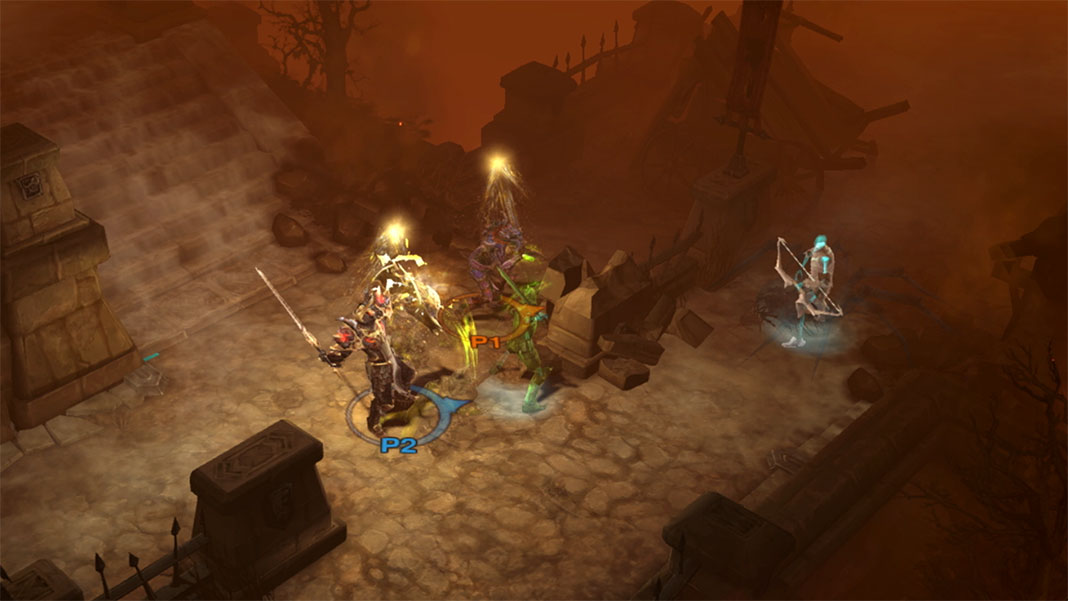 Diablo III: Eternal Collection na Nintendo Switch
