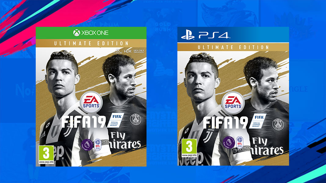 FIFA 19 Ultimate Edition - PS4, Xbox One