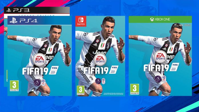 FIFA 19 - PS3, PS4, Switch, Xbox One