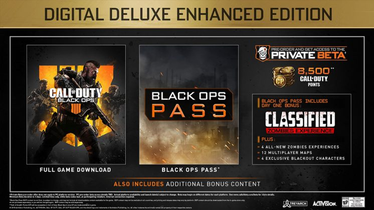 Call of Duty: Black Ops IIII Deluxe Edition