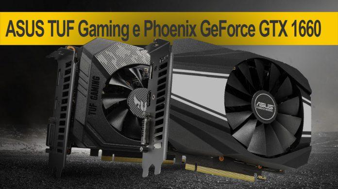 TUF Gaming GeForce GTX 1660 e Phoenix GeForce GTX 1660