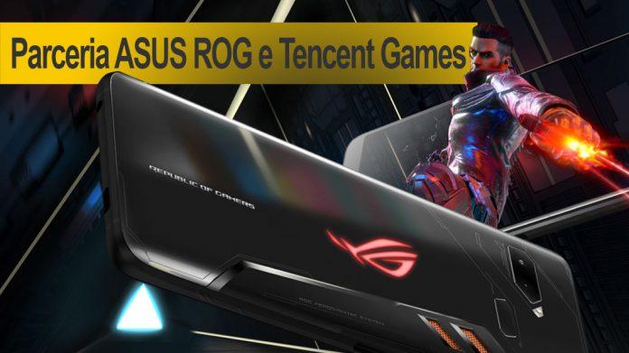 Parceria ASUS ROG e Tencent Games