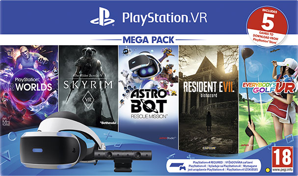 Mega Pack PlayStation VR