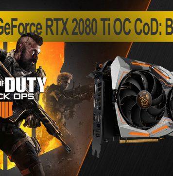 ASUS ROG Strix GeForce RTX 2080 Ti OC Call of Duty: Black Ops 4