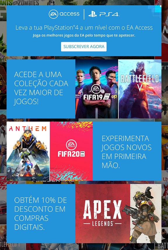 EA Access na PlayStation 4