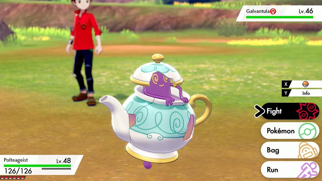 Pokémon Sword e Shield - Polteageist