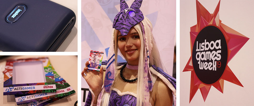 Instax Mini Link na Lisboa Games Week