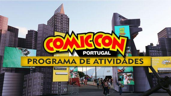 Comic Con Portugal 2019 - Programa de Atividades