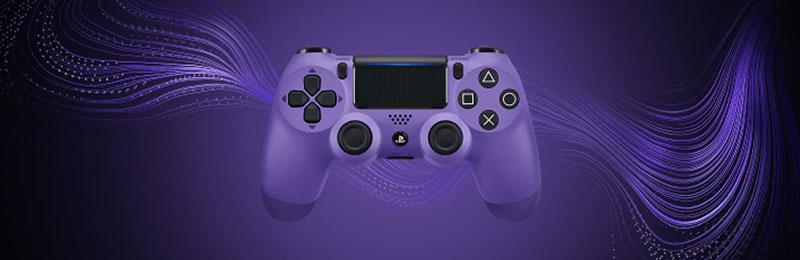 Dualshock 4 Electric Purple