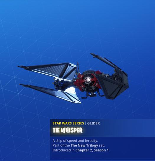 Fortnite - Tie Whisper Glider