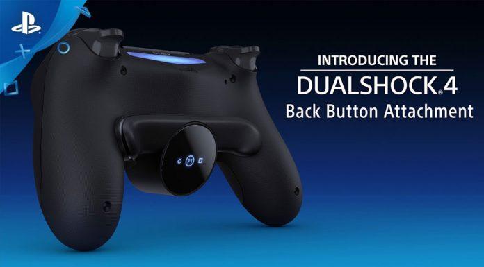Acessório botões traseiros para DualShock 4
