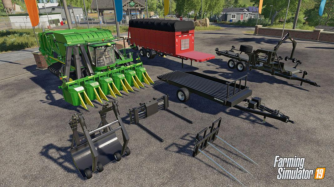 Farming Simulator 19 - DLC John Deere Cotton