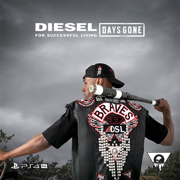 Days Gone: Parceria PlayStation e Diesel