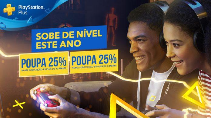Promoção Subscrição PlayStation Plus
