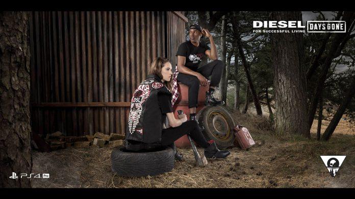Days Gone: Parceria PlayStation e Diesel