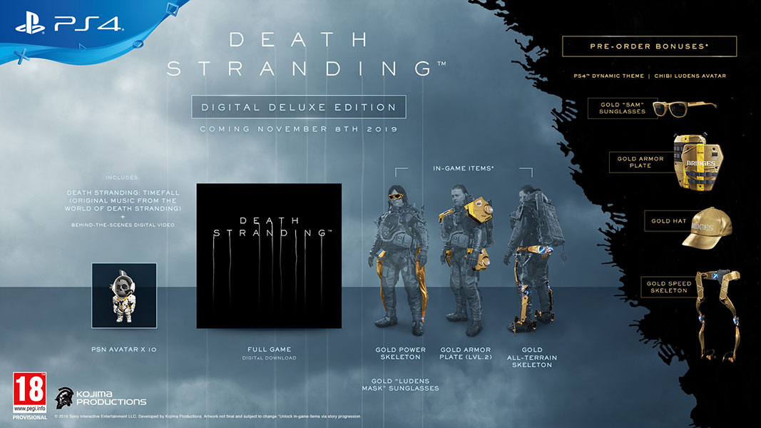 Death Stranding - Digital Deluxe Edition