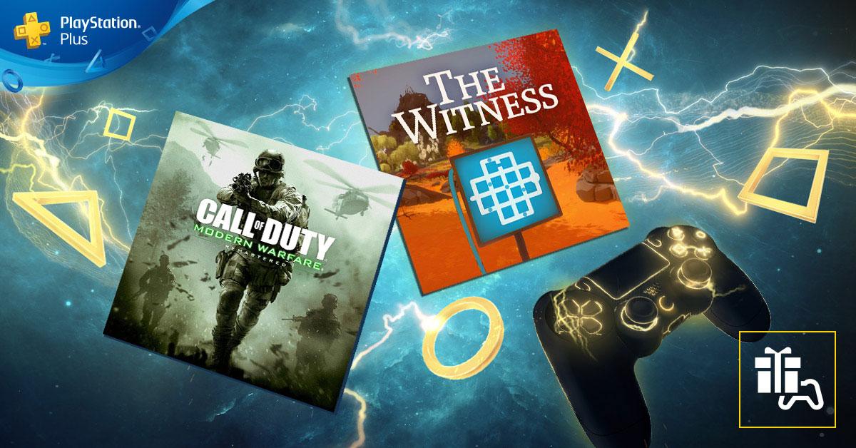 PlayStation Plus - Jogos do mês de março