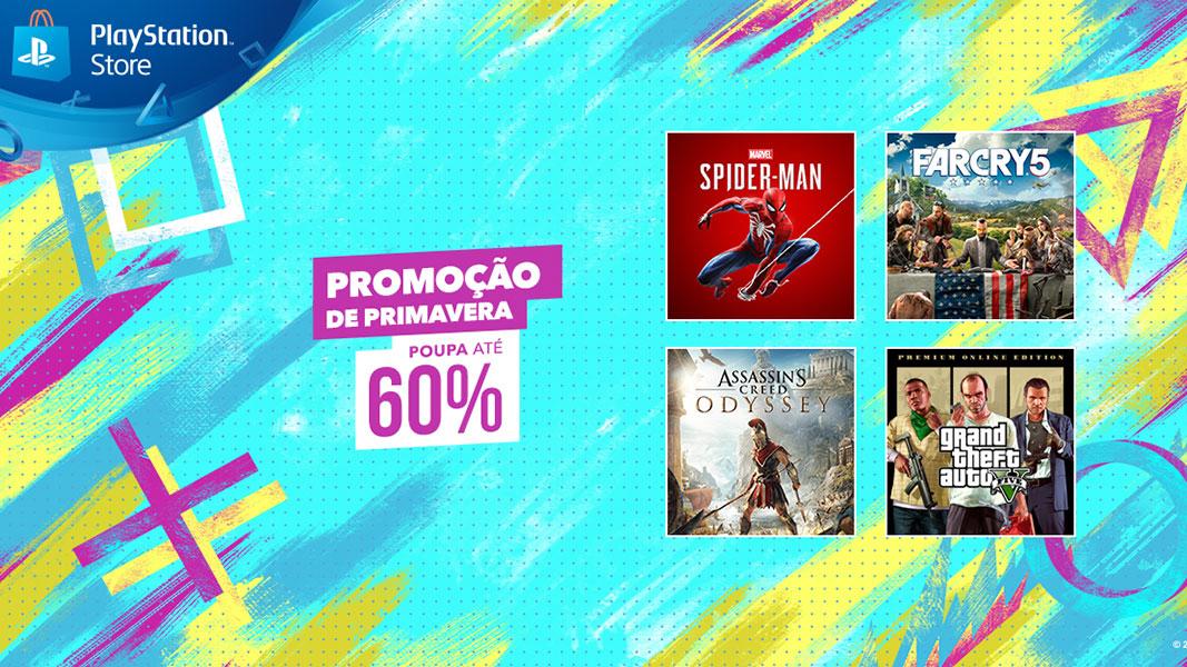 Promoção de primavera PlayStation Store
