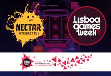 Nectar Interactive e Lisboa Games Week - Award Machine