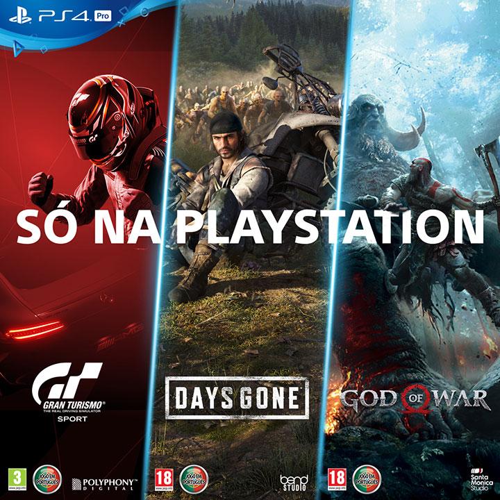 PlayStation Exclusivos