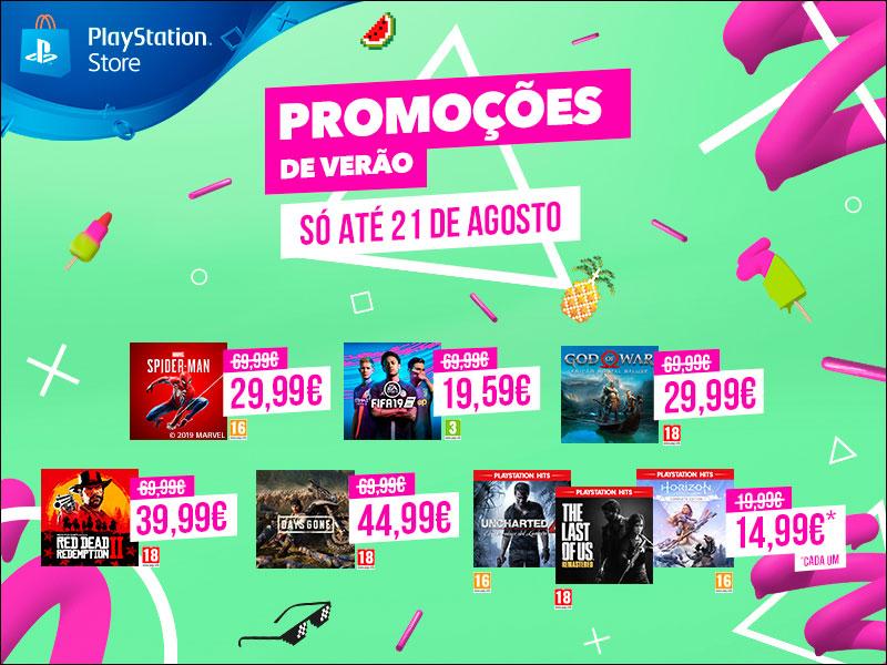 Promoções de Verão PlayStation